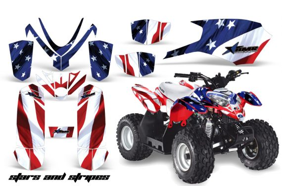 Polaris Outlaw 50 AMR Graphics Kit S S1 570x376 - Polaris Predator 50 Graphics
