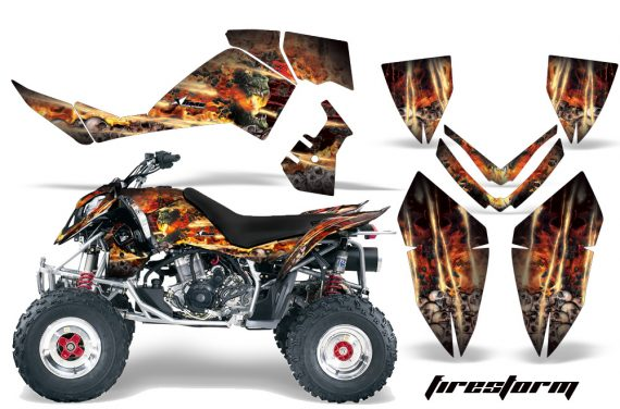 Polaris Outlaw 500 06 08 AMR Graphics Kit FS B 570x376 - Polaris Outlaw 450/500/525 2006-2008 Graphics