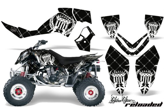 Polaris Outlaw 500 06 08 AMR Graphics Kit SR WB 570x376 - Polaris Outlaw 450/500/525 2006-2008 Graphics