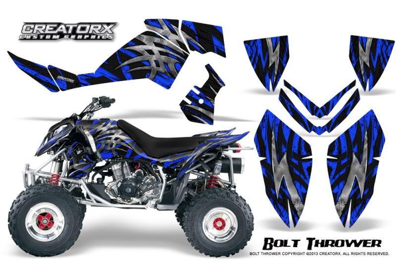 Polaris-Outlaw-500-06-08-CreatorX-Graphics-Kit-Bolt-Thrower-Blue