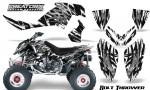 Polaris Outlaw 500 06 08 CreatorX Graphics Kit Bolt Thrower White 150x90 - Polaris Outlaw 450/500/525 2006-2008 Graphics