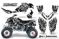 Polaris-Outlaw-500-06-08-CreatorX-Graphics-Kit-Bolt-Thrower-White