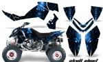 Polaris Outlaw 500 06 08 CreatorX Graphics Kit Skull Chief Blue 150x90 - Polaris Outlaw 450/500/525 2006-2008 Graphics