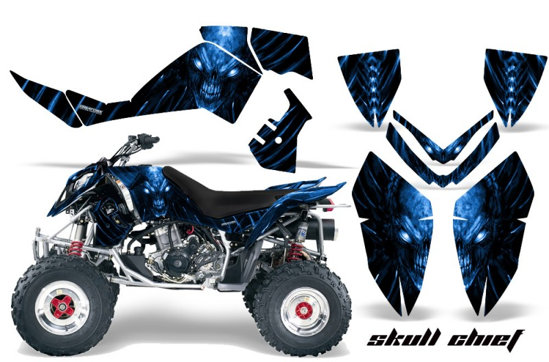 Polaris-Outlaw-500-06-08-CreatorX-Graphics-Kit-Skull-Chief-Blue
