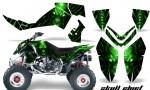 Polaris Outlaw 500 06 08 CreatorX Graphics Kit Skull Chief Green 150x90 - Polaris Outlaw 450/500/525 2006-2008 Graphics