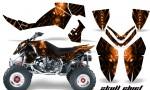 Polaris Outlaw 500 06 08 CreatorX Graphics Kit Skull Chief Orange 150x90 - Polaris Outlaw 450/500/525 2006-2008 Graphics
