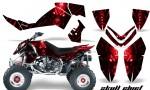 Polaris Outlaw 500 06 08 CreatorX Graphics Kit Skull Chief Red 150x90 - Polaris Outlaw 450/500/525 2006-2008 Graphics