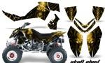 Polaris Outlaw 500 06 08 CreatorX Graphics Kit Skull Chief Yellow 150x90 - Polaris Outlaw 450/500/525 2006-2008 Graphics