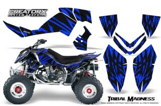 Polaris Outlaw 500 06 08 CreatorX Graphics Kit Tribal Madness Blue 320x211 - Polaris Outlaw 450/500/525 2006-2008 Graphics