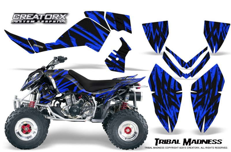 Polaris-Outlaw-500-06-08-CreatorX-Graphics-Kit-Tribal-Madness-Blue