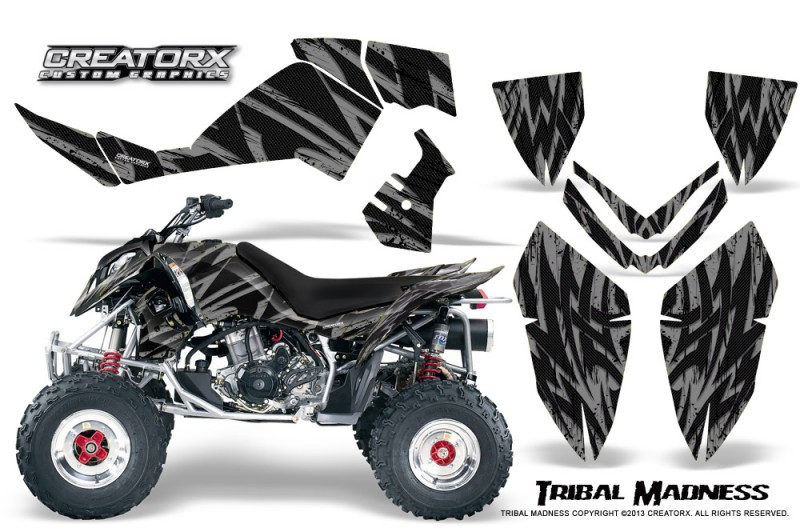 Polaris-Outlaw-500-06-08-CreatorX-Graphics-Kit-Tribal-Madness-Silver