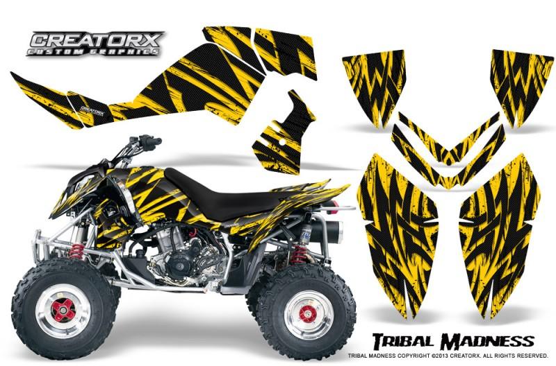 Polaris-Outlaw-500-06-08-CreatorX-Graphics-Kit-Tribal-Madness-Yellow