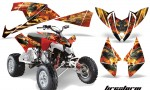 Polaris Outlaw 500 2009 AMR Graphics Kit FS R 150x90 - Polaris Outlaw 450/500/525 2009-2012 Graphics