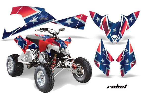 Polaris Outlaw 500 2009 AMR Graphics Kit Rebel 570x376 - Polaris Outlaw 450/500/525 2009-2012 Graphics