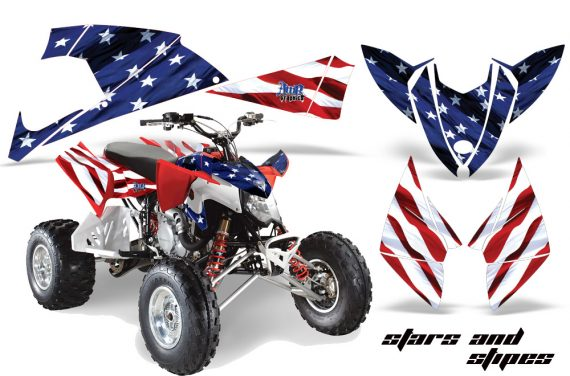 Polaris Outlaw 500 2009 AMR Graphics Kit S S 570x376 - Polaris Outlaw 450/500/525 2009-2012 Graphics