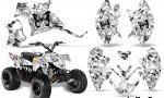 Polaris Outlaw 90 AMR Graphics Kit BF BW 150x90 - Polaris Outlaw 90/110 2002-2016 Graphics