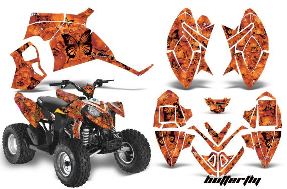 Polaris Outlaw 90 AMR Graphics Kit BF OK 570x376 - Polaris Outlaw 90/110 2002-2016 Graphics