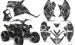 Polaris Outlaw 90 AMR Graphics Kit CP B 150x90 - Polaris Outlaw 90/110 2002-2016 Graphics