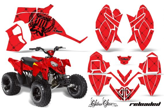 Polaris Outlaw 90 AMR Graphics Kit SSR BR 570x376 - Polaris Outlaw 90/110 2002-2016 Graphics