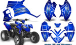 Polaris Outlaw 90 Graphics Kit Cold Fusion Blue 150x90 - Polaris Outlaw 90/110 2002-2016 Graphics