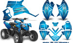 Polaris Outlaw 90 Graphics Kit Cold Fusion BlueIce 150x90 - Polaris Outlaw 90/110 2002-2016 Graphics