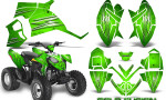 Polaris Outlaw 90 Graphics Kit Cold Fusion Green 150x90 - Polaris Outlaw 90/110 2002-2016 Graphics