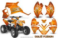 Polaris-Outlaw-90-Graphics-Kit-Cold-Fusion-Orange