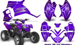 Polaris Outlaw 90 Graphics Kit Cold Fusion Purple 150x90 - Polaris Outlaw 90/110 2002-2016 Graphics