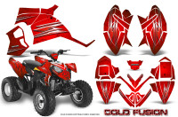 Polaris-Outlaw-90-Graphics-Kit-Cold-Fusion-Red