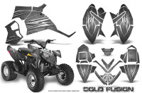 Polaris-Outlaw-90-Graphics-Kit-Cold-Fusion-Silver