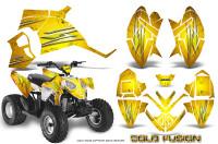 Polaris-Outlaw-90-Graphics-Kit-Cold-Fusion-Yellow
