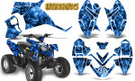 Polaris Outlaw 90 Graphics Kit Inferno Blue 150x90 - Polaris Outlaw 90/110 2002-2016 Graphics
