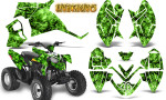 Polaris Outlaw 90 Graphics Kit Inferno Green 150x90 - Polaris Outlaw 90/110 2002-2016 Graphics