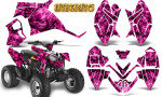 Polaris Outlaw 90 Graphics Kit Inferno Pink 150x90 - Polaris Outlaw 90/110 2002-2016 Graphics