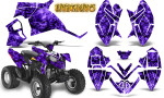 Polaris Outlaw 90 Graphics Kit Inferno Purple 150x90 - Polaris Outlaw 90/110 2002-2016 Graphics