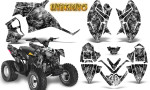 Polaris Outlaw 90 Graphics Kit Inferno Silver 150x90 - Polaris Outlaw 90/110 2002-2016 Graphics