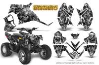 Polaris-Outlaw-90-Graphics-Kit-Inferno-Silver