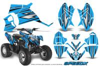 Polaris-Outlaw-90-Graphics-Kit-SpeedX-Black-BlueIce