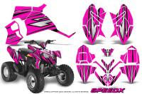 Polaris-Outlaw-90-Graphics-Kit-SpeedX-Black-Pink