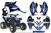 Polaris-Outlaw-90-Graphics-Kit-SpeedX-Blue-Black