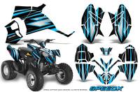 Polaris-Outlaw-90-Graphics-Kit-SpeedX-BlueIce-Black