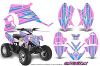Polaris-Outlaw-90-Graphics-Kit-SpeedX-BlueIce-PinkLite