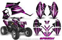 Polaris-Outlaw-90-Graphics-Kit-SpeedX-Pink-Black