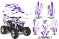 Polaris-Outlaw-90-Graphics-Kit-SpeedX-Purple-White