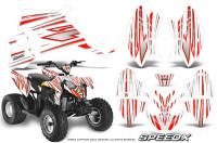 Polaris-Outlaw-90-Graphics-Kit-SpeedX-Red-White