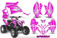 Polaris-Outlaw-90-Graphics-Kit-SpeedX-White-Pink