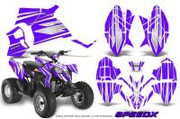 Polaris-Outlaw-90-Graphics-Kit-SpeedX-White-Purple