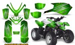 Polaris Outlaw Predator 50 CreatorX Graphics Kit AfterBurner Green 150x90 - Polaris Predator 50 Graphics