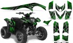 Polaris Phoenix CreatorX Graphics Kit SpiderX Green 150x90 - Polaris Phoenix 200 Graphics