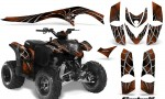 Polaris Phoenix CreatorX Graphics Kit SpiderX Orange 150x90 - Polaris Phoenix 200 Graphics